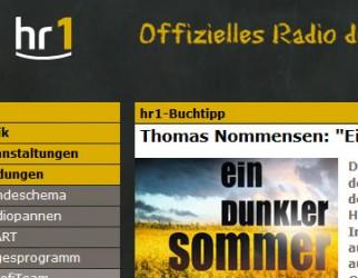 Buchbesprechung im Hessischen Rundfunk