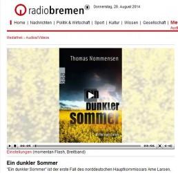 Krimitipp der Woche bei Radio Bremen